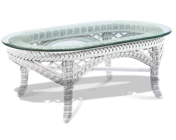 Lanai Glass Coffee Table by ElanaMar Designs