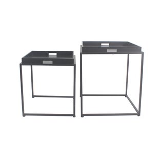 Low priced Vamyr 2 Piece Nesting Tables By Latitude Run