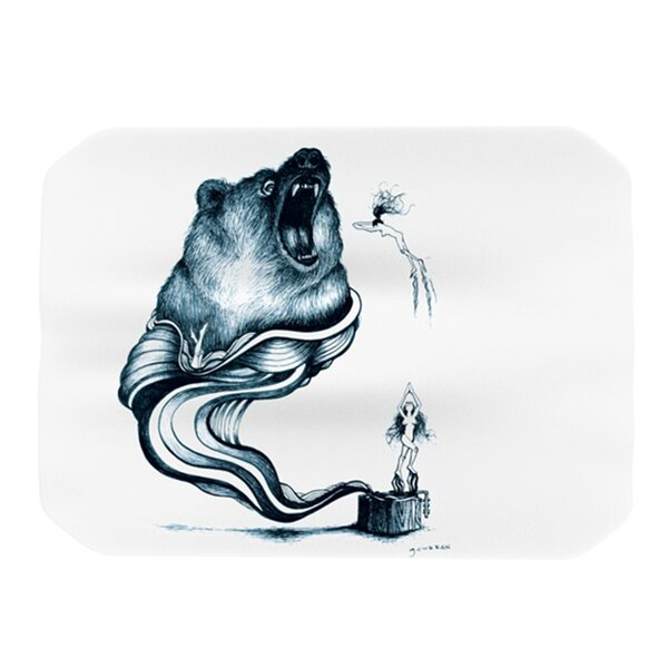 Hot Tub Hunter Placemat by KESS InHouse