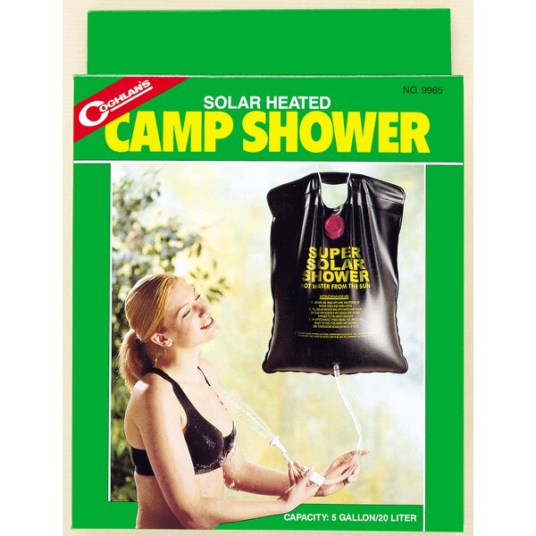 Solar Heated Camp Outdoor Shower by Coghlans