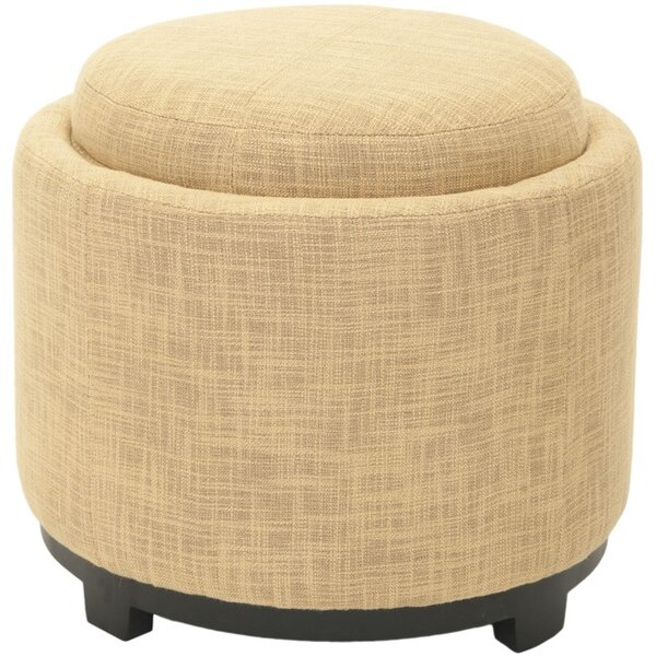 Hersh Tray Storage Ottoman by House of Hampton
