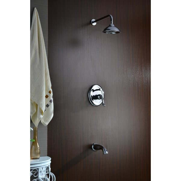 Assai Diverter Tub and Shower Faucet with Valve by ANZZI