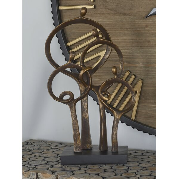 Abstract Family Sculpture by Cole & Grey