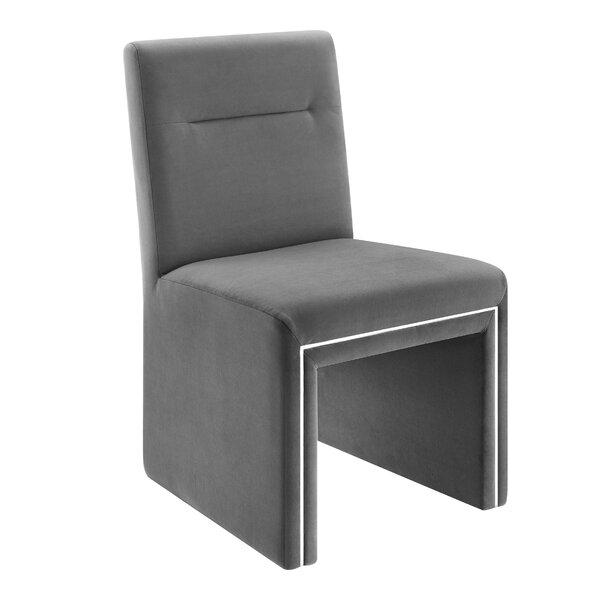 Altheimer Velvet Upholstered Dining Chair By Mercer41