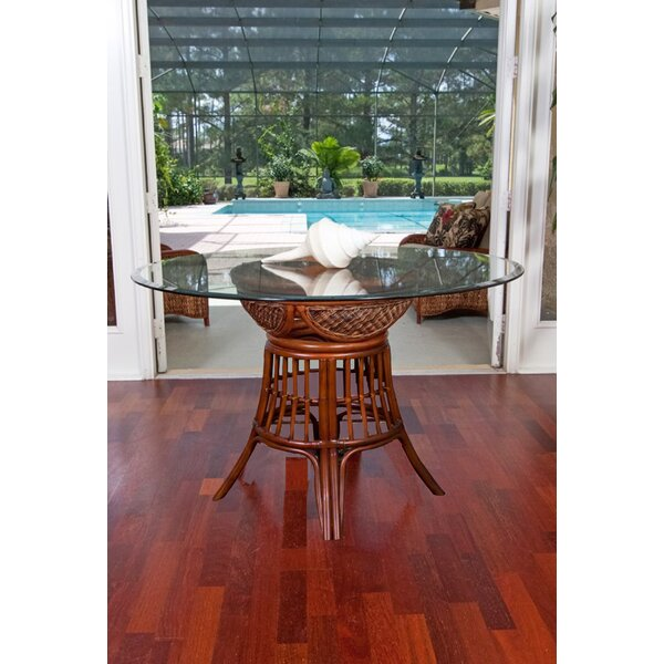 Bermuda Solid Wood Dining Table by Bayou Breeze Bayou Breeze