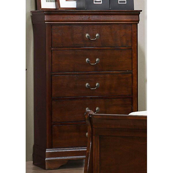 Gateshead 5 Drawer Chest by Charlton Home
