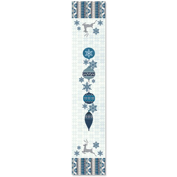 Simply Winter Table Runner by The Holiday Aisle