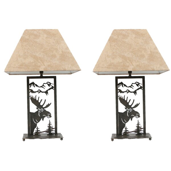 Moose Die-Cut 16 Table Lamp (Set of 2) by DEI