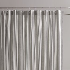 black and white striped shower curtain. Daria Striped Shower Curtain Ticking Stripe  Wayfair