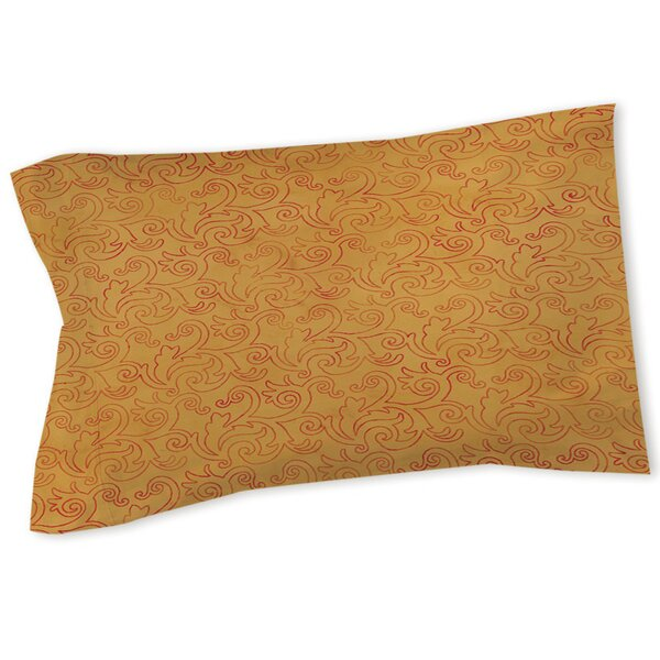 Zinnia Damask Sham by Manual Woodworkers & Weavers