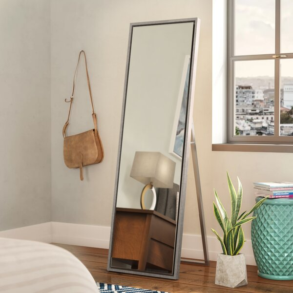 Whitakers Wood Framed Easel Free Standing Full Length Mirror by Brayden Studio