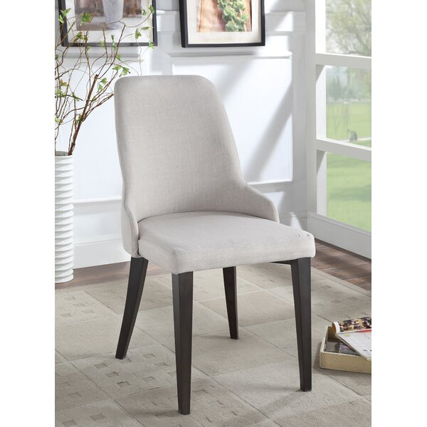 Lampert Upholstered Dining Chairs (Set of 2) by Ophelia & Co.