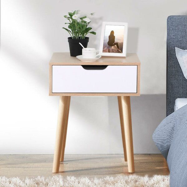 Maiorano End Table with Storage by Ebern Designs