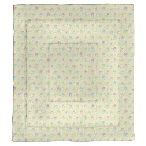 Avicia Cupcake Pattern Single Reversible Comforter