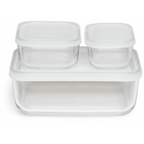 Hawthorn Compact 3 Container Food Storage Set by Mint Pantry