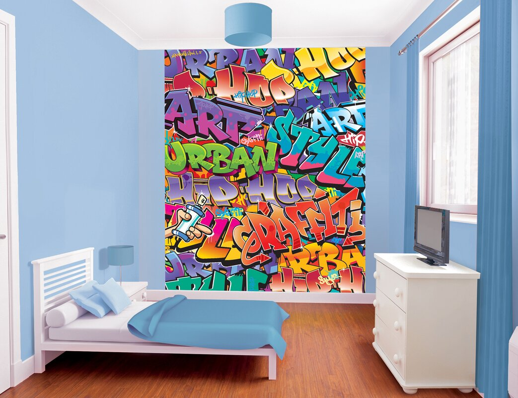 Wall mural design image collections home wall decoration ideas wallpops walltastic wall art graffiti wall mural reviews wayfair walltastic wall art graffiti wall mural amipublicfo amipublicfo Gallery