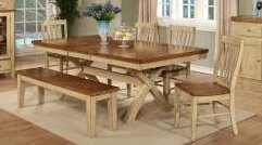 Sisler Extendable Solid Wood Dining Table by August Grove August Grove