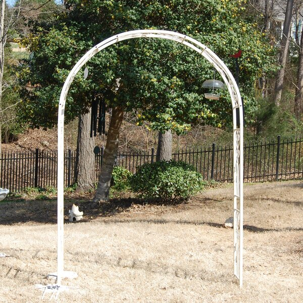 Vintage Vineyard Steel Arbor by Griffith Creek Designs