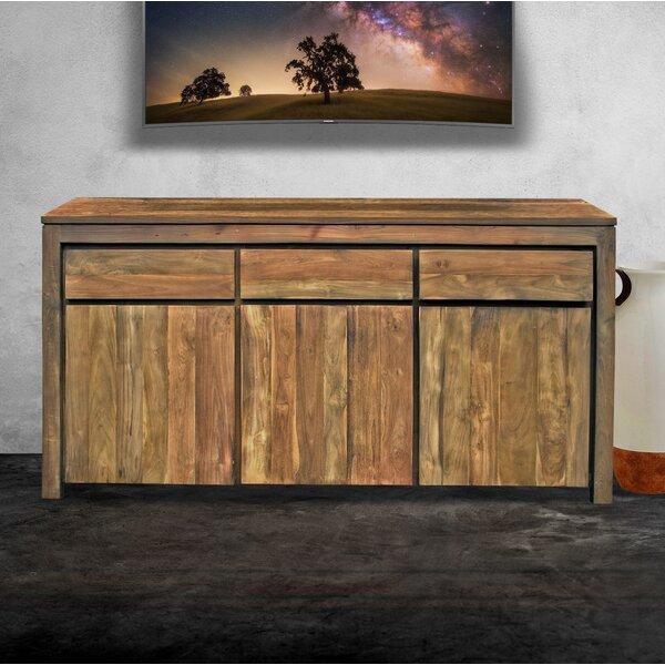 Leisa Recycled Teak 3 Door Sideboard by Loon Peak