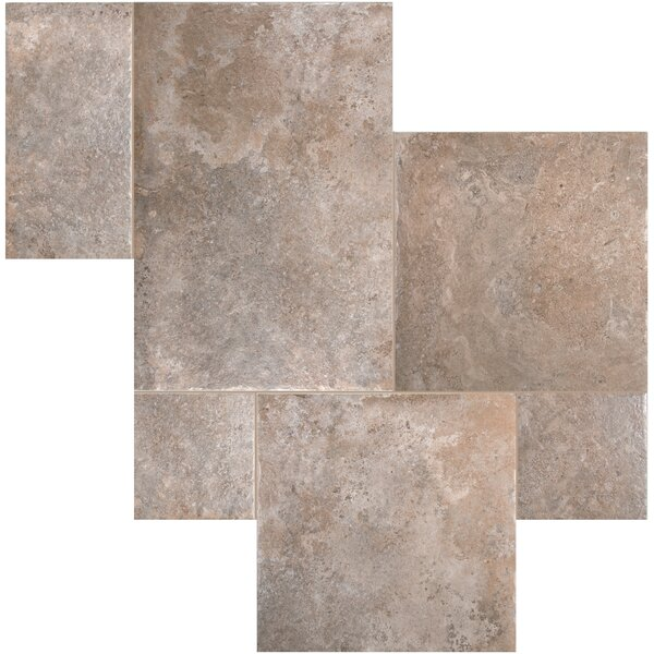 Versailles Manoir 17.3 x 26 Porcelain Field Tile in Gray by MSI