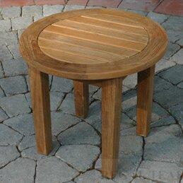 Solid Wood Side Table by Regal Teak