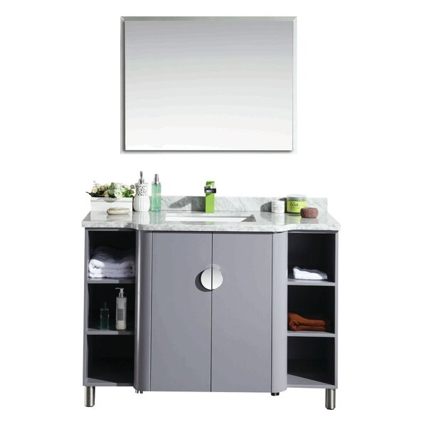 Grist 48 Single Bathroom Vanity Set by Orren Ellis
