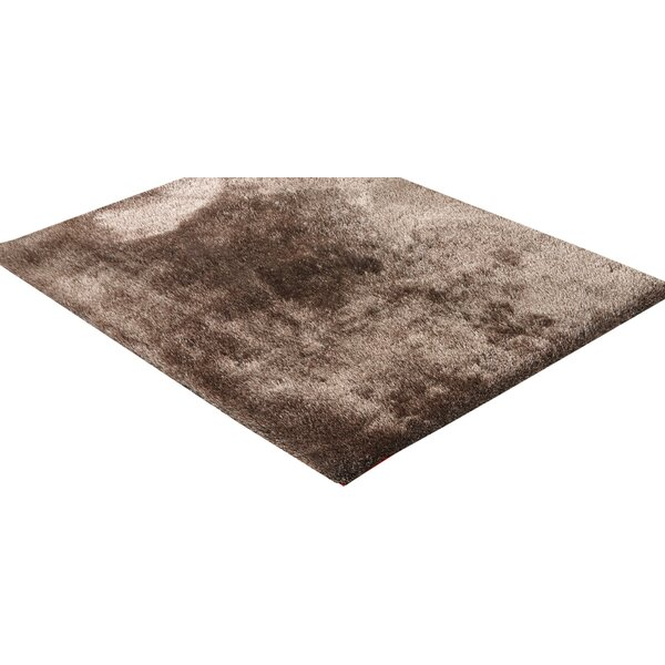 Marcello Hand-Tufted Brown Area Rug by Latitude Run