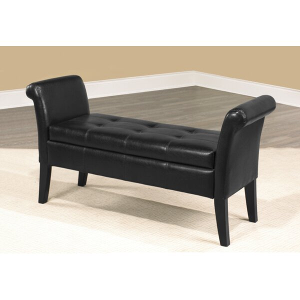 Flomaton Upholstered Storage Bench by Darby Home Co