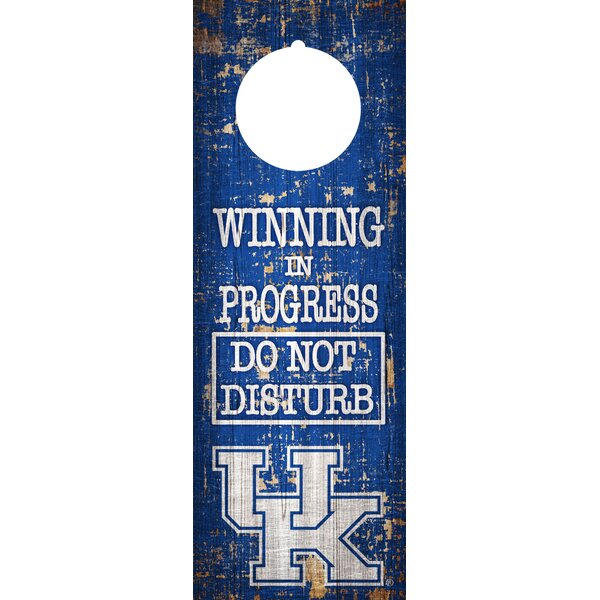 NCAA Team Door Hanger Wall Decor by Fan Creations