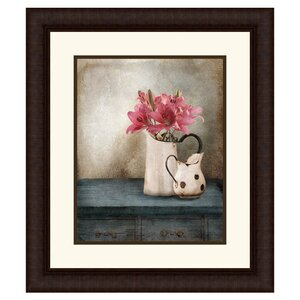 Still Life Framed Painting Print by PTM Images