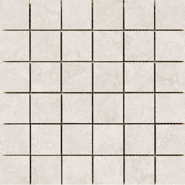 Costa 2 x 2 Ceramic Mosaic Tile in White by Emser Tile