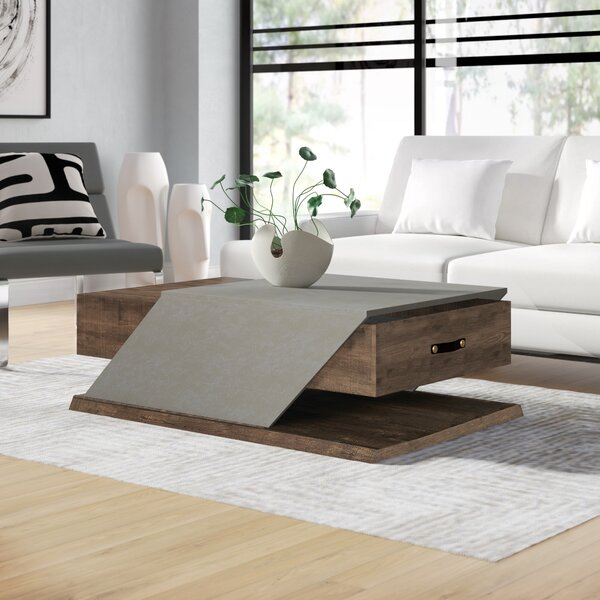 Berg Coffee Table by Wrought Studio