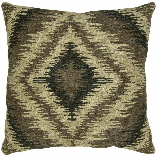 Axl Wool Throw Pillow by Millwood Pines