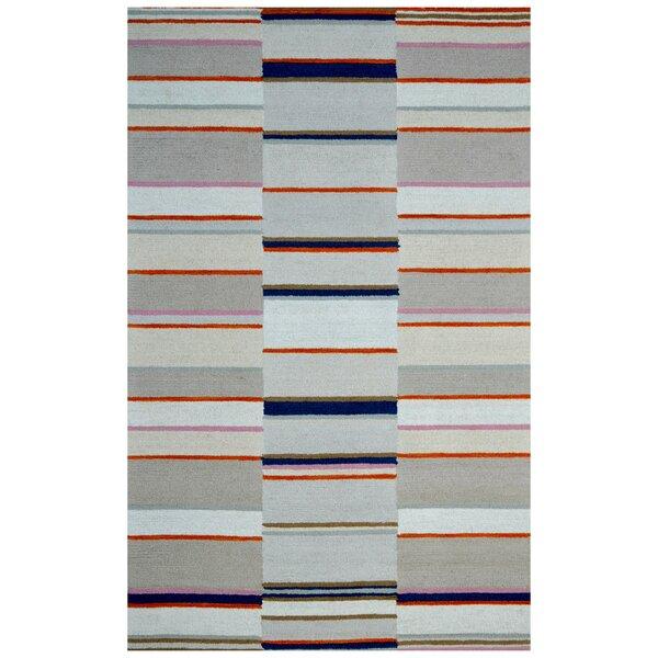 Wool Hand-Tufted Beige/Ivory Area Rug by Eastern Weavers