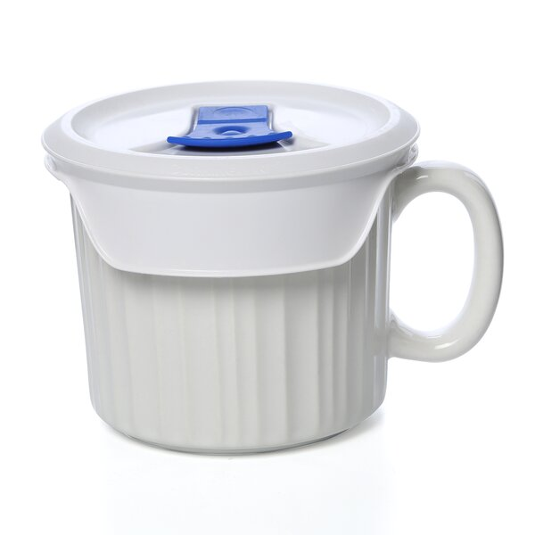 Drexel 20 oz. Mug with Vented Plastic Cover by Mint Pantry