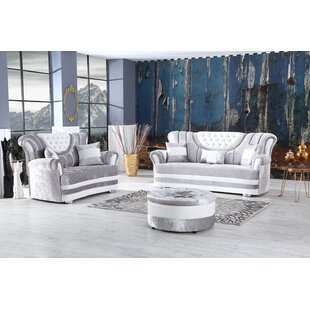 Ehrlich 2 Piece Living Room Set by House of Hampton®