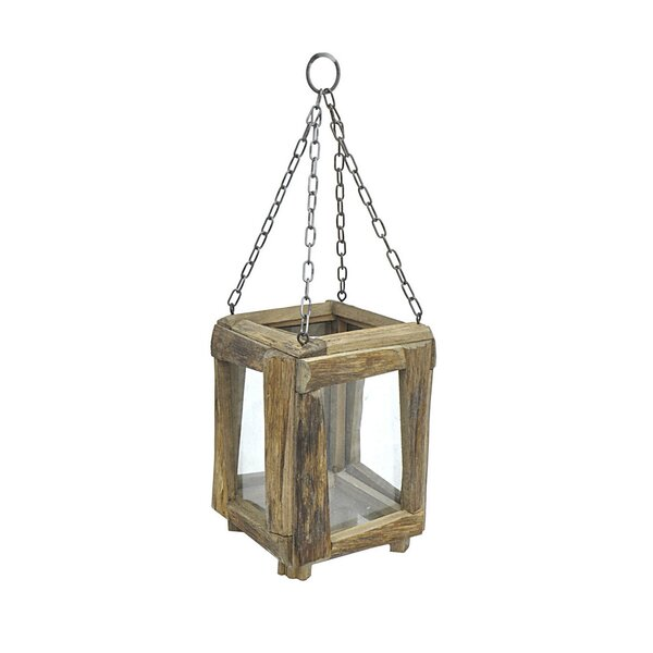 Wood Lantern by Union Rustic