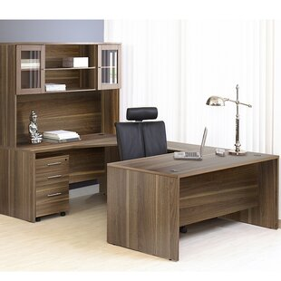 Pro X Executive 5 Piece U-Shape Desk Office Suite By Haaken Furniture