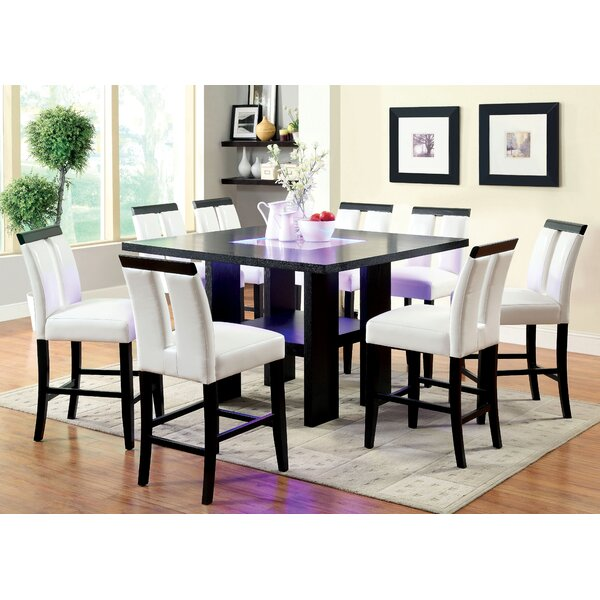 Equuleus 9 Piece Pub Table Set by Latitude Run