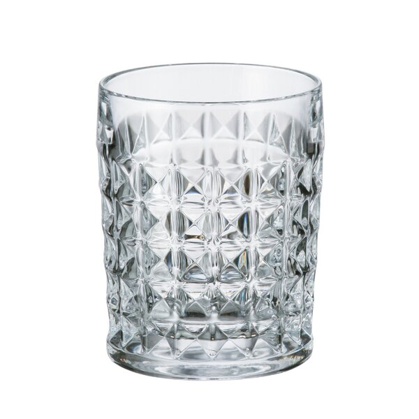 Diamond 7.77 oz. Cocktail Glass (Set of 6) by Red Vanilla