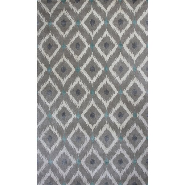 Bob Mackie Mirage Silver & Gray Area Rug by Bob Mackie Home by KAS Rugs