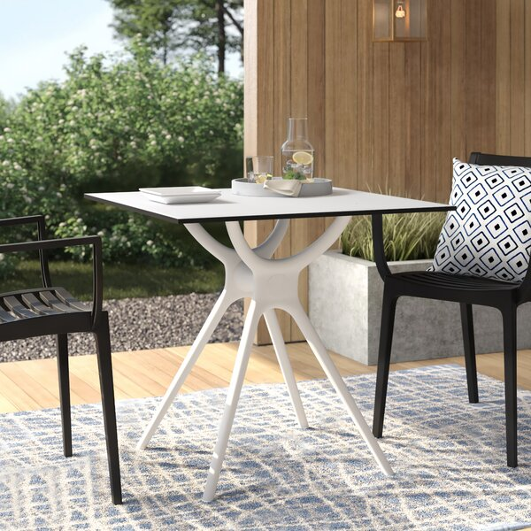 Curnutt Plastic Dining Table by Mercury Row