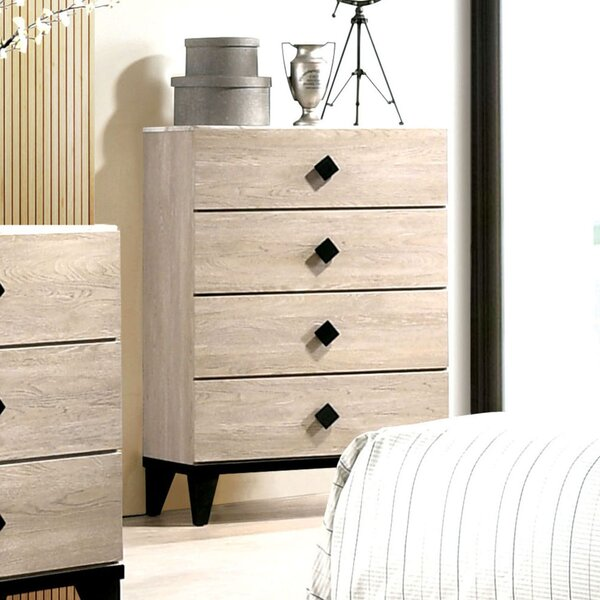 Corona 4 Drawer Chest by Gracie Oaks
