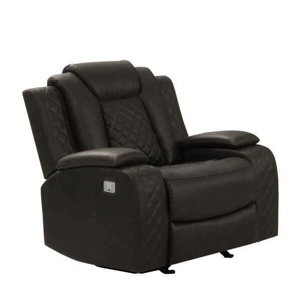 Gaikwad Faux Leather Manual Recliner W003189822