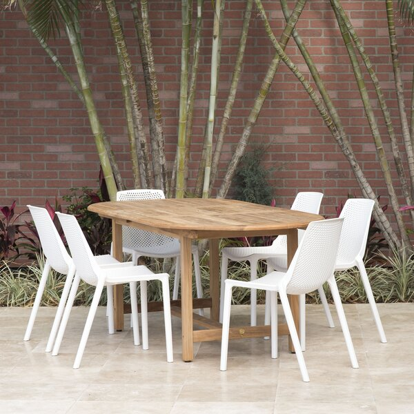 Sannois 7 Piece Dining Set by Brayden Studio