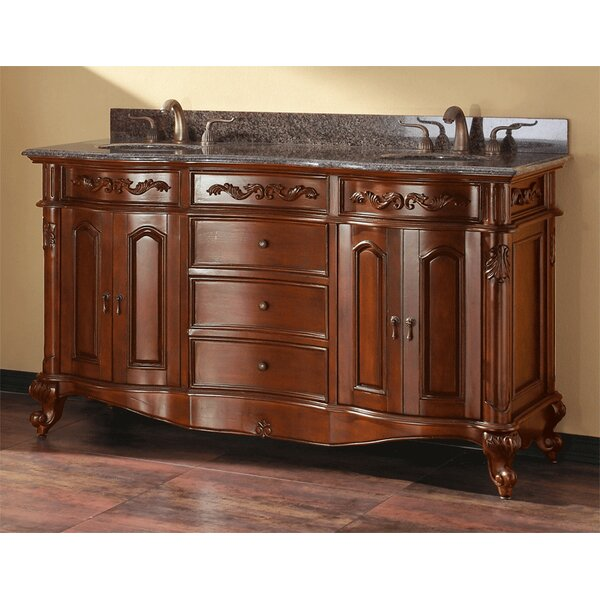 McCloy 61 Double Bathroom Vanity Set by Darby Home Co
