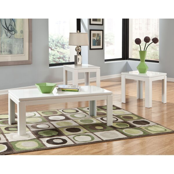 standard furniture outlook 3 piece coffee table set & reviews
