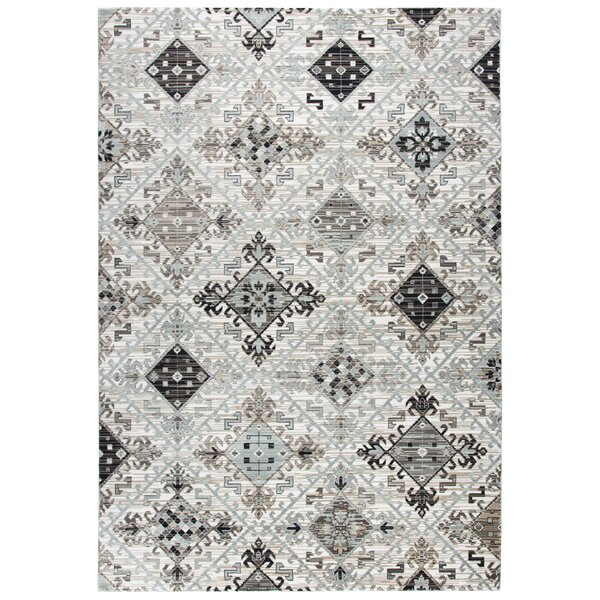 Yancy Ivory Area Rug by Bungalow Rose