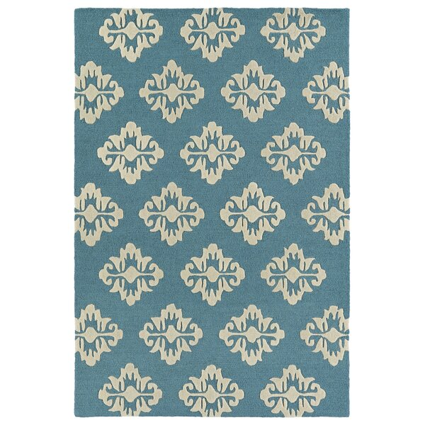 Bryant Handmade Turquoise Area Rug by Charlton Home