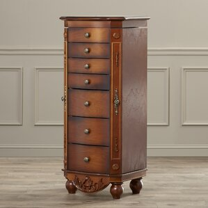 Wain Coolidge Jewelry Armoire with Mir..